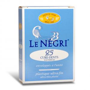 LE NEGRI_curedents bte25plastique