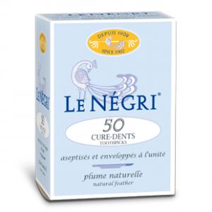 LE NEGRI_curedents bte50plume d'oie