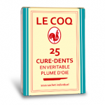 LECOQ_curedents bte 25plume